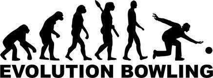 Kręgle ewolucja ilustracji