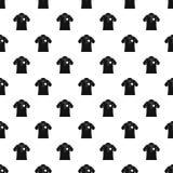 Kręgle polo koszula wzoru bezszwowy wektor royalty ilustracja