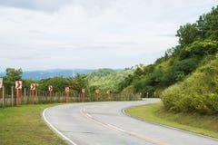 Kręcenie drogi zdjęcie stock