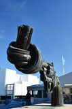 Kręcony pistolet Fotografia Royalty Free