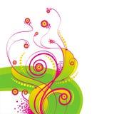 krąg krzyw zwoju ilustracji