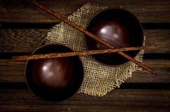 kręgle, drewniany fotografia stock