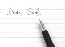 kär gud Arkivbild