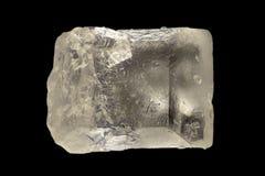 Krańcowy powiekszanie - Cukrowy kryształ przy 20x Fotografia Royalty Free
