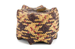 KRA旅行棕榈叶纺织品 库存照片