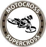 Krańcowa motosport ikona Obraz Royalty Free
