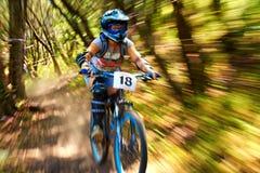 Krańcowa rower górski rywalizacja Obrazy Royalty Free