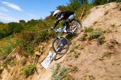 Krańcowa rower górski rywalizacja Fotografia Royalty Free