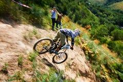 Krańcowa rower górski rywalizacja Zdjęcie Royalty Free