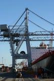 Kraan 4 van de container Royalty-vrije Stock Foto's