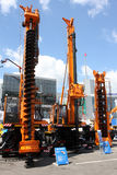 Kraan-boring machine Royalty-vrije Stock Foto's