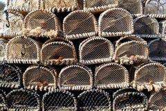 krabów garnki Zdjęcie Stock