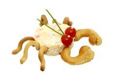 krab sałatka Obrazy Stock