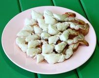 Kraba mięso Zdjęcia Royalty Free
