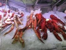 Kraba mięso Zdjęcie Royalty Free