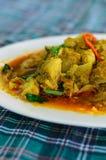 Kraba mięso w currym zdjęcie royalty free