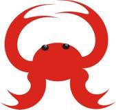 kraba morze Zdjęcia Stock