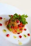 kraba owoc mięsa sałatka Obrazy Stock