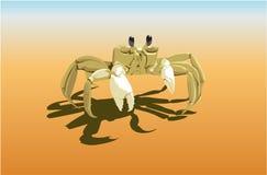 kraba piasek Zdjęcia Royalty Free