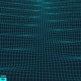 Krabb rasterbakgrund abstrakt vektor för illustration 3d Royaltyfri Bild