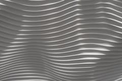 Krabb vit bumby vägg för yttersida 3d Royaltyfria Foton