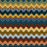Krabba linjer och sömlös modell för prickar Arkivfoto