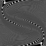 Krabba linjer textur Abstrakt design stock illustrationer