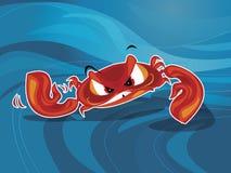krabbavektor Arkivfoto