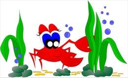 Krabbe stock abbildung