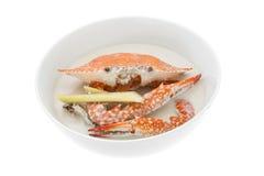 Krabbe und Kokosmilch, thailändisches Lebensmittel lizenzfreies stockfoto