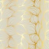 Krabbel abstracte rimpelingen Naadloos patroon Royalty-vrije Stock Foto