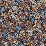 Krabbel naadloos patroon Stock Afbeelding
