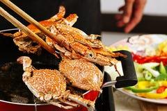 Krabben Stockfotografie
