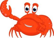 Krabbenbeeldverhaal voor u ontwerp Stock Foto