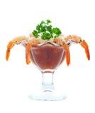 Krabbencocktail lizenzfreies stockbild