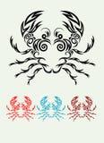 Krabbenverzierung Vektor Abbildung