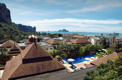 Krabi在泰国 免版税库存图片