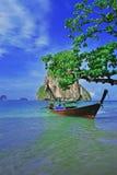 Krabi泰国海滩 免版税库存图片