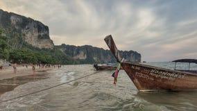 krabi泰国aonang海滩 免版税库存图片