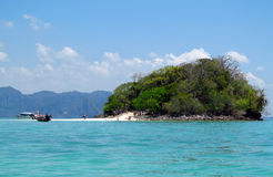 Krabi海滩和海岛泰国 免版税图库摄影