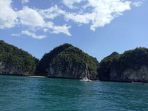 krabi的蓝色海 库存照片