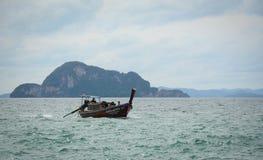 Krabi,泰国海景  免版税库存照片