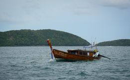 Krabi,泰国海景  免版税库存图片