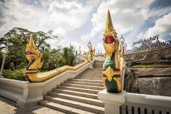 Krabi,泰国- 2016年12月26日:Kaew Korawaram寺庙 Kra 库存照片