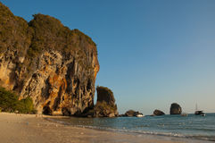 krabi пляжа Стоковое Изображение RF