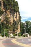 krabi Таиланд Улицы пригорода, автомобилей и зданий Стоковое Фото