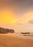 Krabi Таиланд - Krabi 20: Вид на море пляжа в Krabi Таиланде 20/0 Стоковая Фотография RF