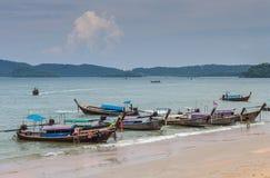 Krabi Таиланд - Krabi 20: Вид на море пляжа в Krabi Таиланде 20/0 Стоковые Фотографии RF