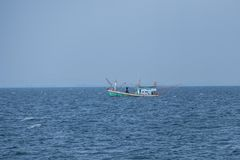 Krabi, Aonang, Θάλασσα Ανταμάν, Ταϊλάνδη Στοκ Φωτογραφία