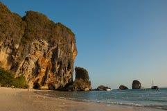 Krabi Beach. Beach and mountains at Krabi, Thailand Royalty Free Stock Image